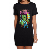 Zombie Apocalypse Women's T-Shirt Dress