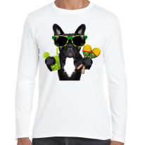 French Bulldog Brazillian Style Long Sleeve T-Shirt