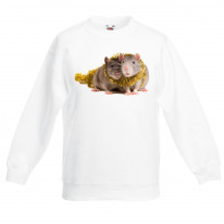 Pet Rats With Tinsel Christmas Kids Jumper \ Sweater