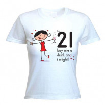 Buy Me A Drink Women's 21st Birthday Present Women's T-Shirt