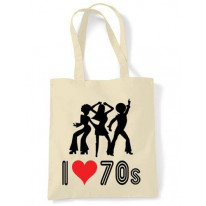 I Love The 70s Shoulder bag