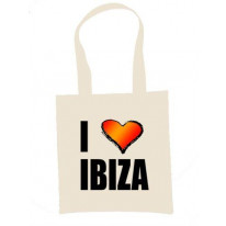 I Love Ibiza Shoulder Bag