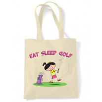 Eat Sleep Golf Shoulder Bag