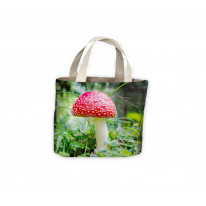 Fly Agaric Mushroom Wild Forage Tote Shopping Bag For Life