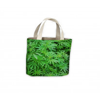 Cannabis Foliage Leafs Tote Shopping Bag For Life