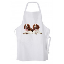 Welsh Springer Spaniel Puppies Kitchen Apron
