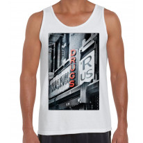 Drugs R Us Large Print Men's Tank Vest Top