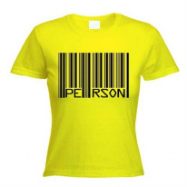 Barcode PERSON Womens T-Shirt