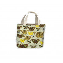 Butterfly Print Tote Shopping Bag For Life