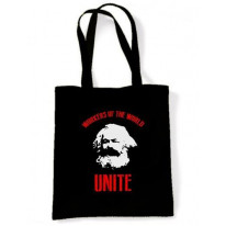 Karl Marx Workers Of The World Bag