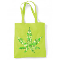 Cannabis Slang Names Funny Tote Shoulder Shopping Bag