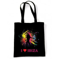 I Love Ibiza Dancer Shoulder Bag