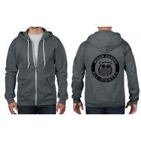 Wigan Casino All Nighter Owl Norther Soul Full Zip Hoodie
