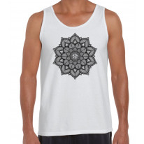 Mandala Tattoo Design Men's Vest Tank Top