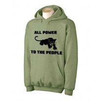 Black Panther Party All Power To The People Hoodie