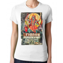 Kali Hindu Goddess Large Print Women's T-Shirt