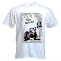 Iron Horse Route 66 Mens T-Shirt