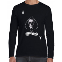 Ace Of Spades Skull Long Sleeve T-Shirt
