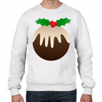 Christmas Pudding Men's Jumper \ Sweater