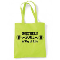 Northern Soul A Way Of Life Shoulder Bag