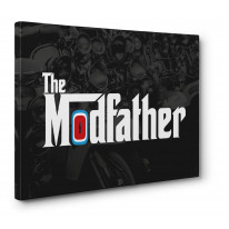 The Modfather Mod Canvas Print Wall Art - Choice Of Sizes