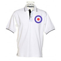 Mod Target Tipped Polo T-Shirt