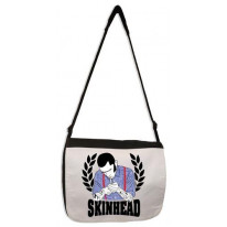 Skinhead Laurel Leaf Laptop Messenger Bag
