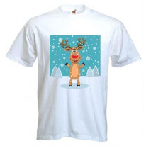 Rudolph The Red Nosed Reindeer Men's T-Shirt
