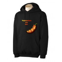Vegetarians Are Hot Chilli Hoodie