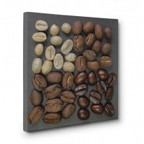 Coffee Beans Assorted Box Canvas Print Wall Art - Choice of Sizes