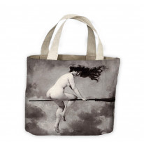 Albert Penot Depart Pour Le Sabbat Witches Sabbath Tote Shopping Bag For Life