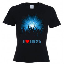 I Love Ibiza Crowd Women's T-Shirt