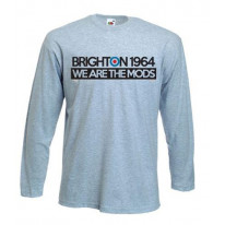 Brighton 1964 We are The Mods Long Sleeve T-Shirt