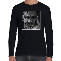Malcolm X Signature Long Sleeve T-Shirt