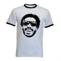 Stevie Wonder Ringer T-Shirt