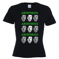 Anonymous Ladies T-Shirt