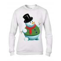 Christmas Snowman Women's Jumper \ Sweater