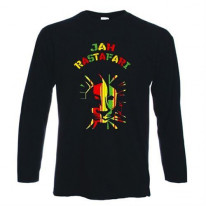 Jah Rastafari Long Sleeve T-Shirt