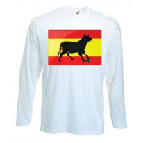 Spanish Bull Football Long Sleeve T-Shirt