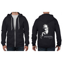 George Bernard Shaw Vegetarian Quote Zip Hoodie