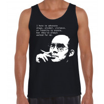 Hunter S Thompson Drugs Quote Men's Tank Vest Top
