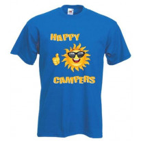 Happy Campers Mens T-Shirt