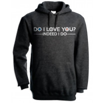 Do I Love You Frank Wilson Northern Soul Men's Pouch Pocket Hoodie Hooded Sweatshirt