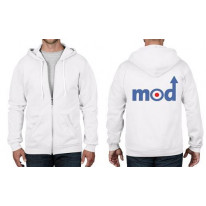 Mod Arrow Logo Full Zip Hoodie