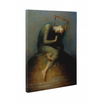George Frederic Watts Hope Box Canvas Print Wall Art - Choice of Sizes