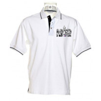 Mod A Way Of Life Men's Contrast Polo T-Shirt
