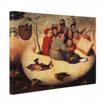 Hieronymus Bosch Concert in the Egg Box Canvas Print Wall Art - Choice of Sizes