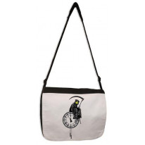 Banksy Grim Reaper Laptop Messenger Bag