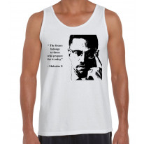 Malcolm X Future Quote Men's Tank Vest Top