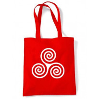 Celtic Spiral Shoulder Bag